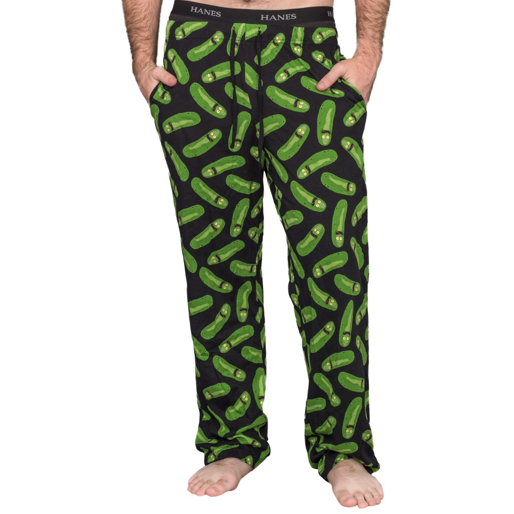Rick and Morty Pickle Rick Lounge Pants,Ugly Christmas Sweaters | Funny Xmas Sweaters for Men and Women