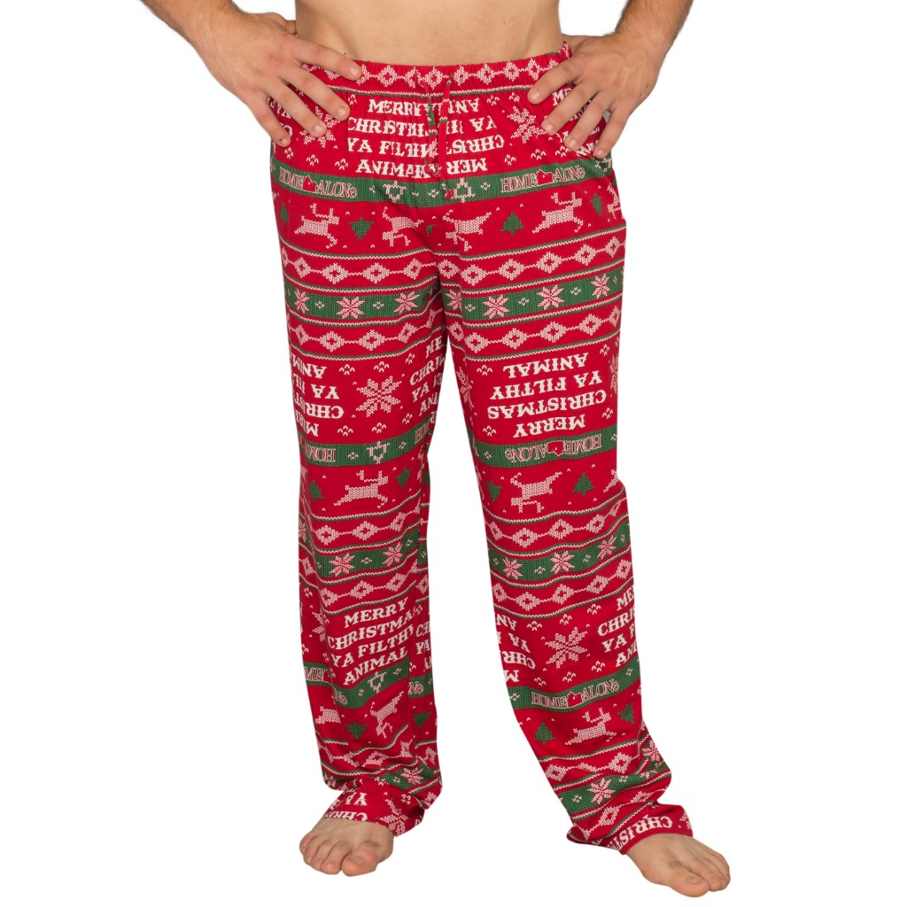 Home Alone Merry Christmas Ya Filthy Animal Lounge Pants,Ugly Christmas Sweaters | Funny Xmas Sweaters for Men and Women