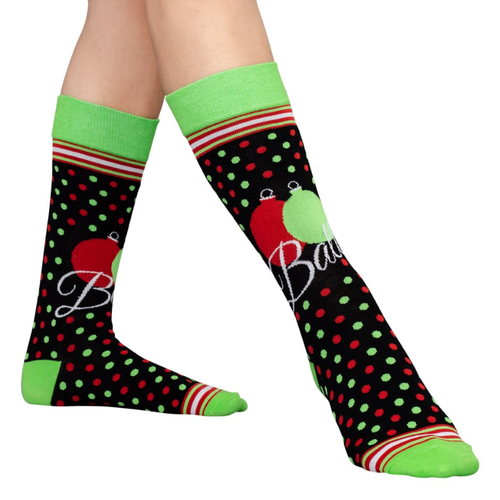 Balls Ugly Christmas Socks – Adult,Ugly Christmas Sweaters | Funny Xmas Sweaters for Men and Women
