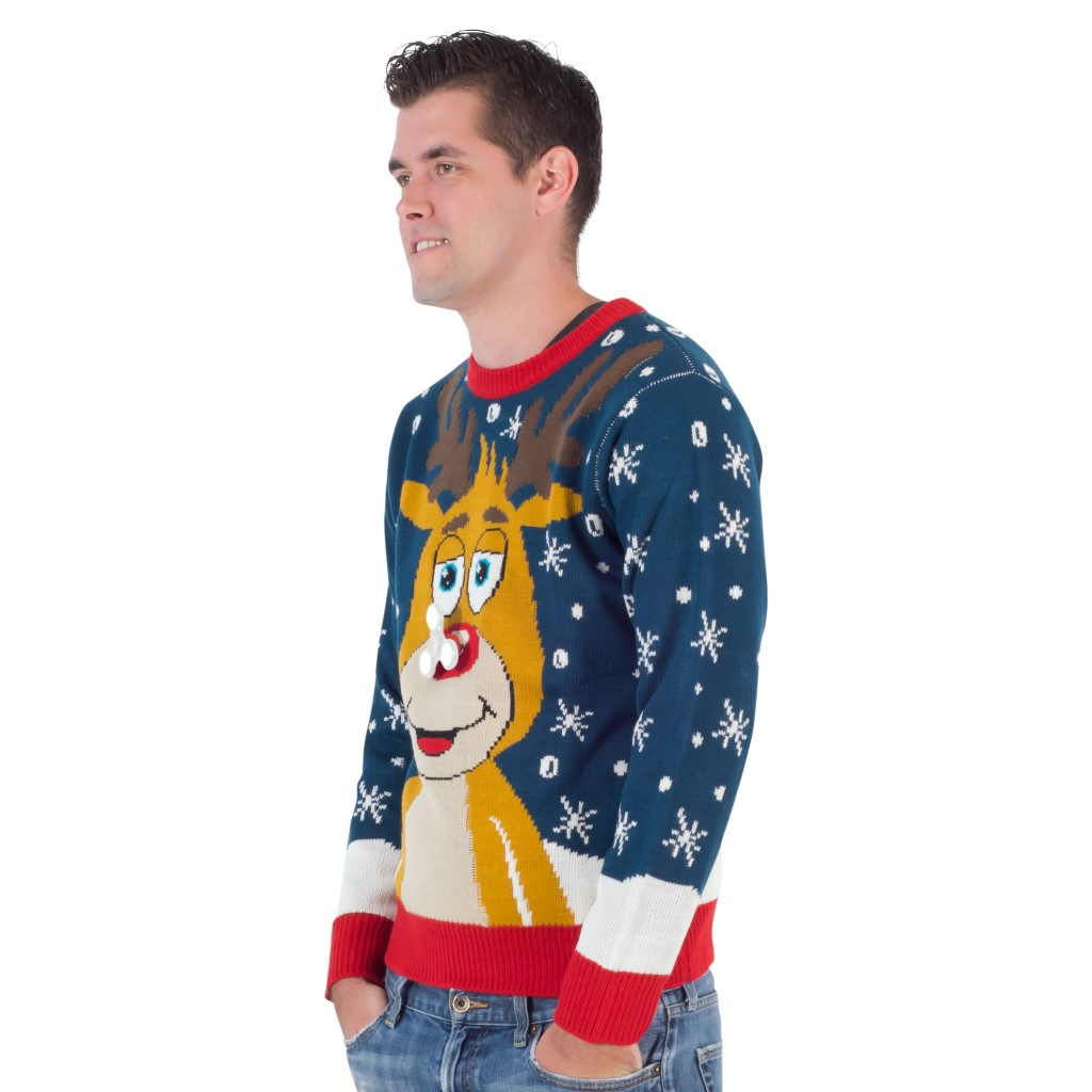 Reindeer Fidget Spinner Ugly Christmas Sweater,Ugly Christmas Sweaters | Funny Xmas Sweaters for Men and Women