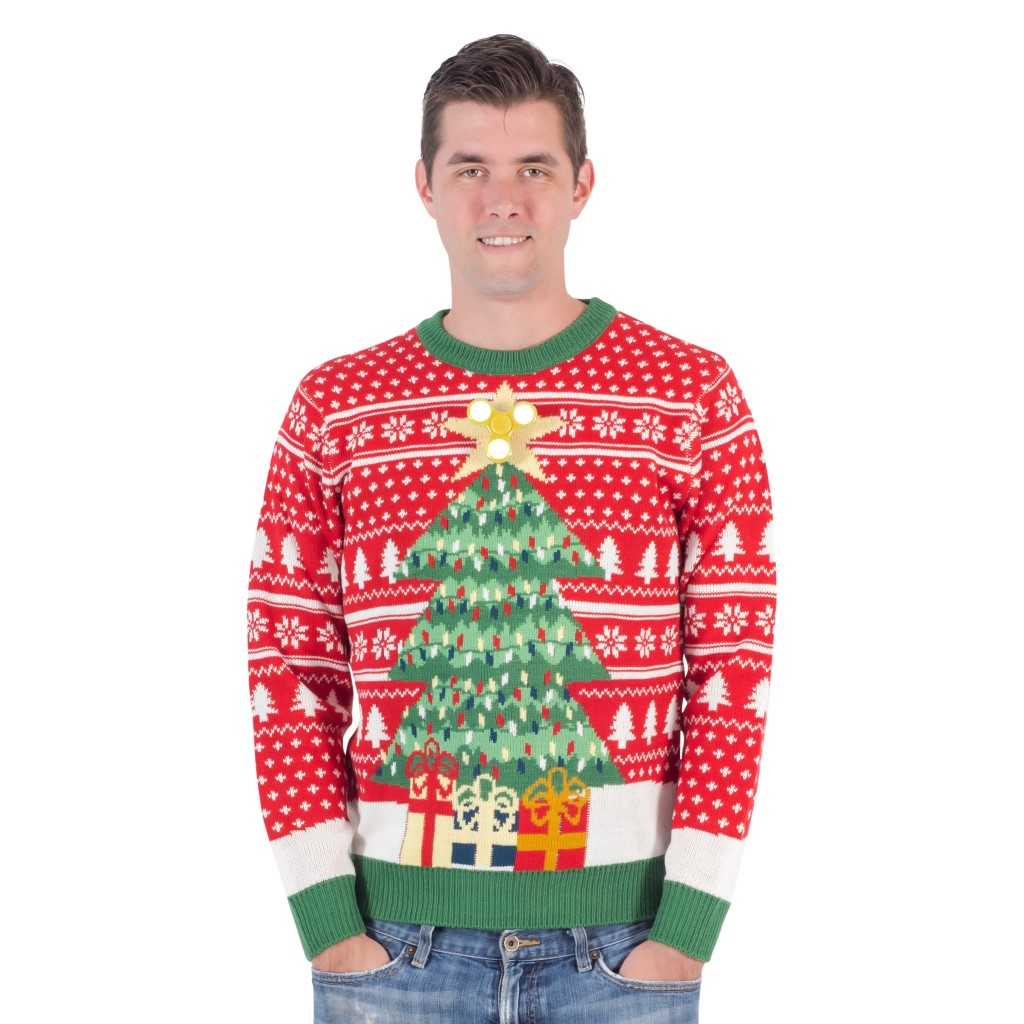 Fidget Spinner Star Christmas Tree Ugly Sweater,Ugly Christmas Sweaters | Funny Xmas Sweaters for Men and Women