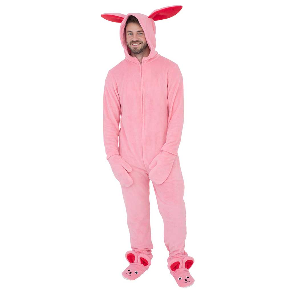 A Christmas Story Bunny Union Suit Pajama,Ugly Christmas Sweaters | Funny Xmas Sweaters for Men and Women