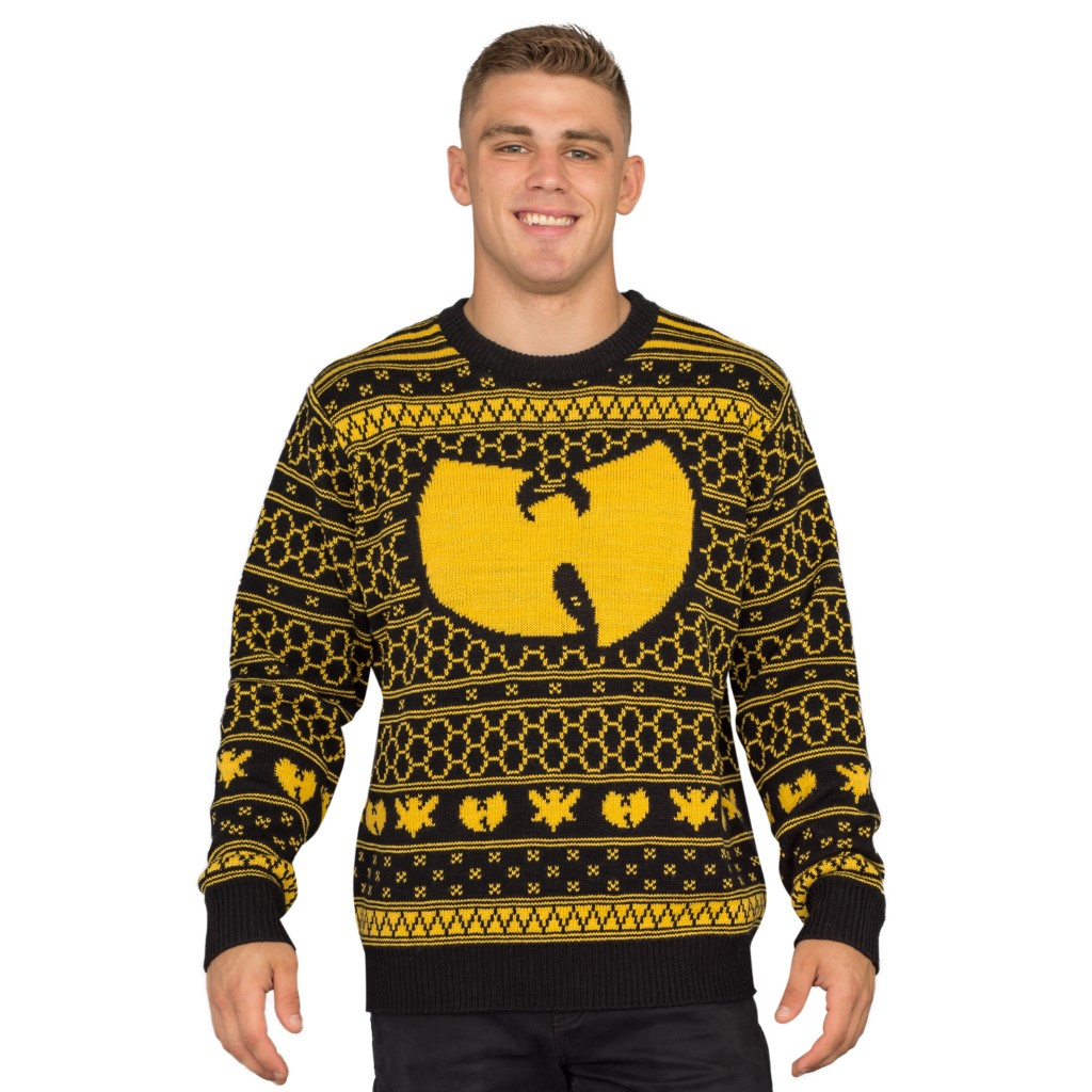 Wu Tang Clan Killer Bees Ugly Christmas Sweater,Ugly Christmas Sweaters | Funny Xmas Sweaters for Men and Women