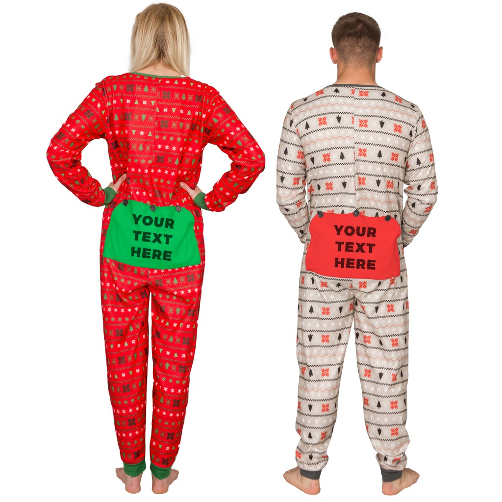 Custom Family Christmas Jumpsuit – Customize with Family Name,Ugly Christmas Sweaters | Funny Xmas Sweaters for Men and Women