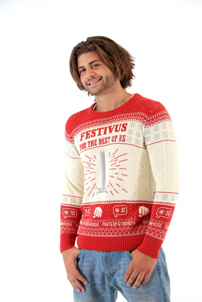 Seinfeld Festivus For The Rest Of Us Pole Sweater
