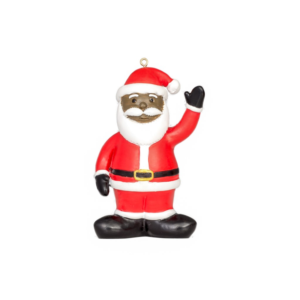 Black Santa Christmas Tree Ornament Decoration,Ugly Christmas Sweaters | Funny Xmas Sweaters for Men and Women