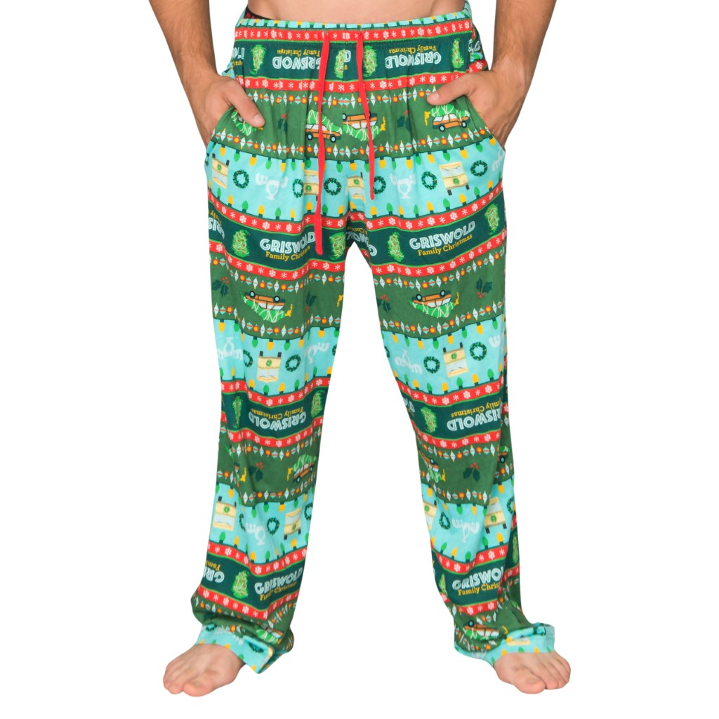 National Lampoon's Griswold Family Christmas Vacation Fair isle Lounge Pants,Ugly Christmas Sweaters | Funny Xmas Sweaters for Men and Women