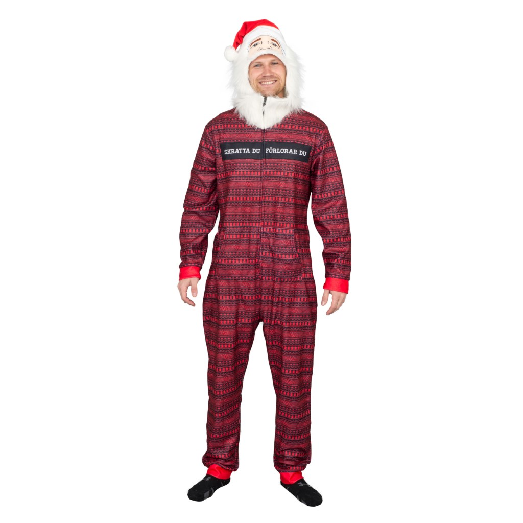 PewDiePie Ugly Christmas Jumpsuit,Ugly Christmas Sweaters | Funny Xmas Sweaters for Men and Women