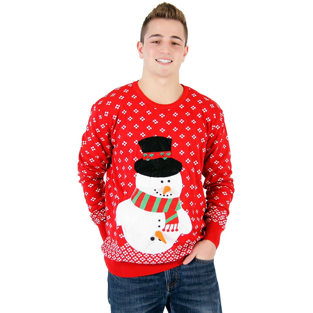 Snowman Christmas Sweater,Ugly Christmas Sweaters | Funny Xmas Sweaters for Men and Women