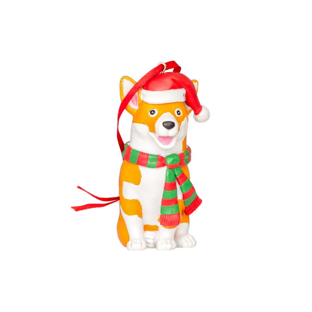 Christmas Corgi Christmas Tree Ornament Decoration,Ugly Christmas Sweaters | Funny Xmas Sweaters for Men and Women