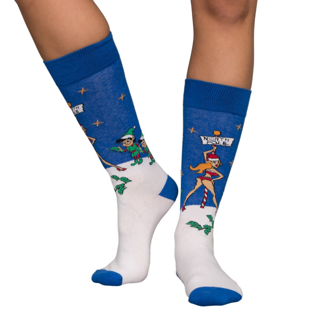 Stripper Pole Ugly Christmas Socks,Ugly Christmas Sweaters | Funny Xmas Sweaters for Men and Women