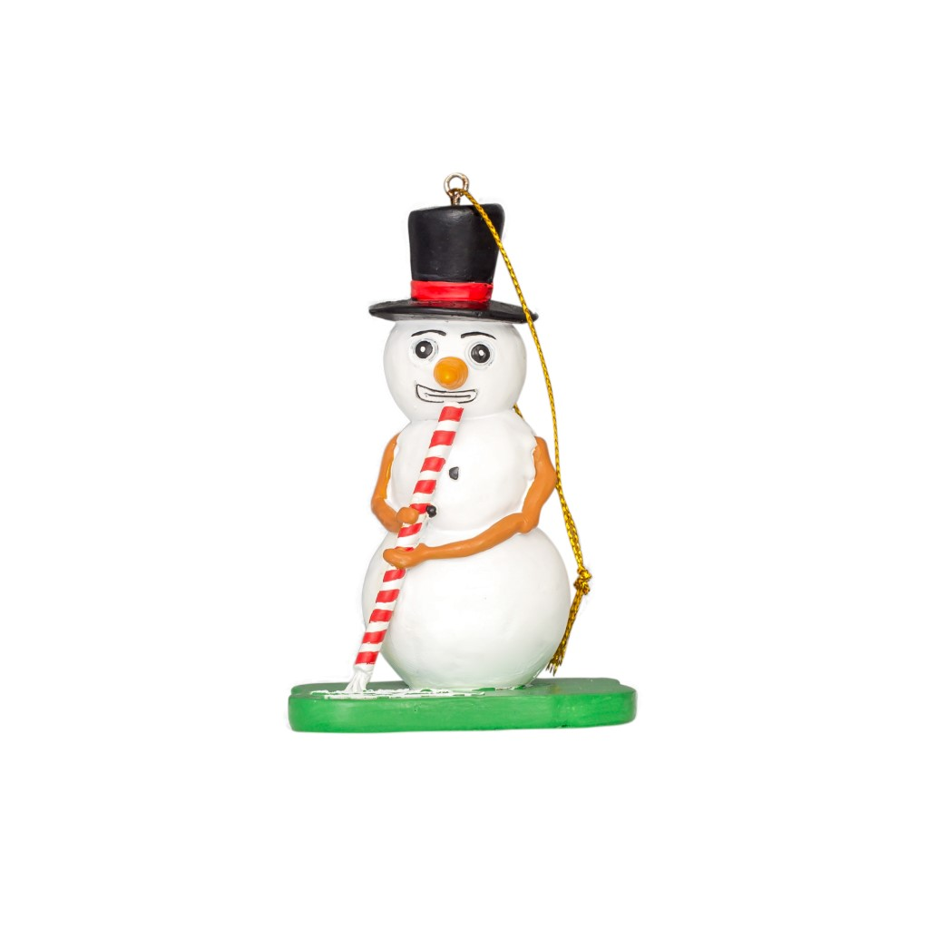 Frosty the Blowman Christmas Tree Ornament,Ugly Christmas Sweaters | Funny Xmas Sweaters for Men and Women