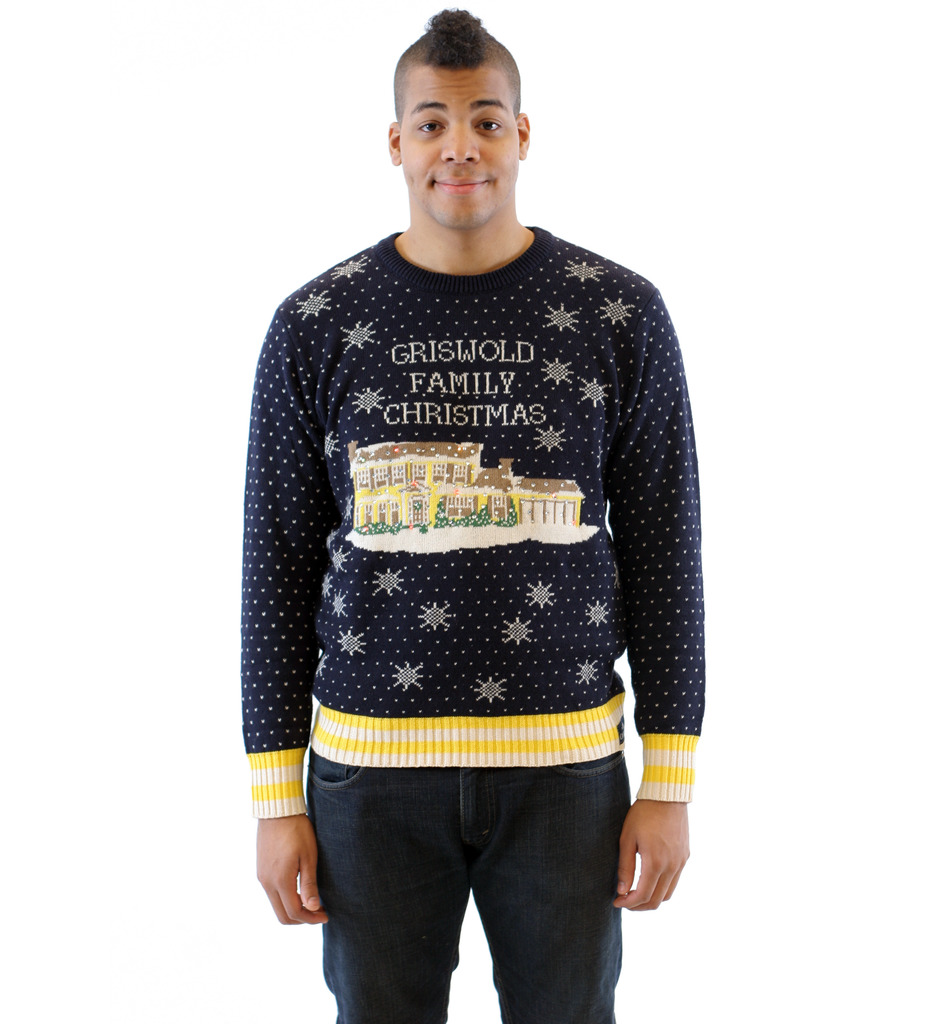 Griswold Family Christmas Ugly Sweater – LED Lights,Ugly Christmas Sweaters | Funny Xmas Sweaters for Men and Women