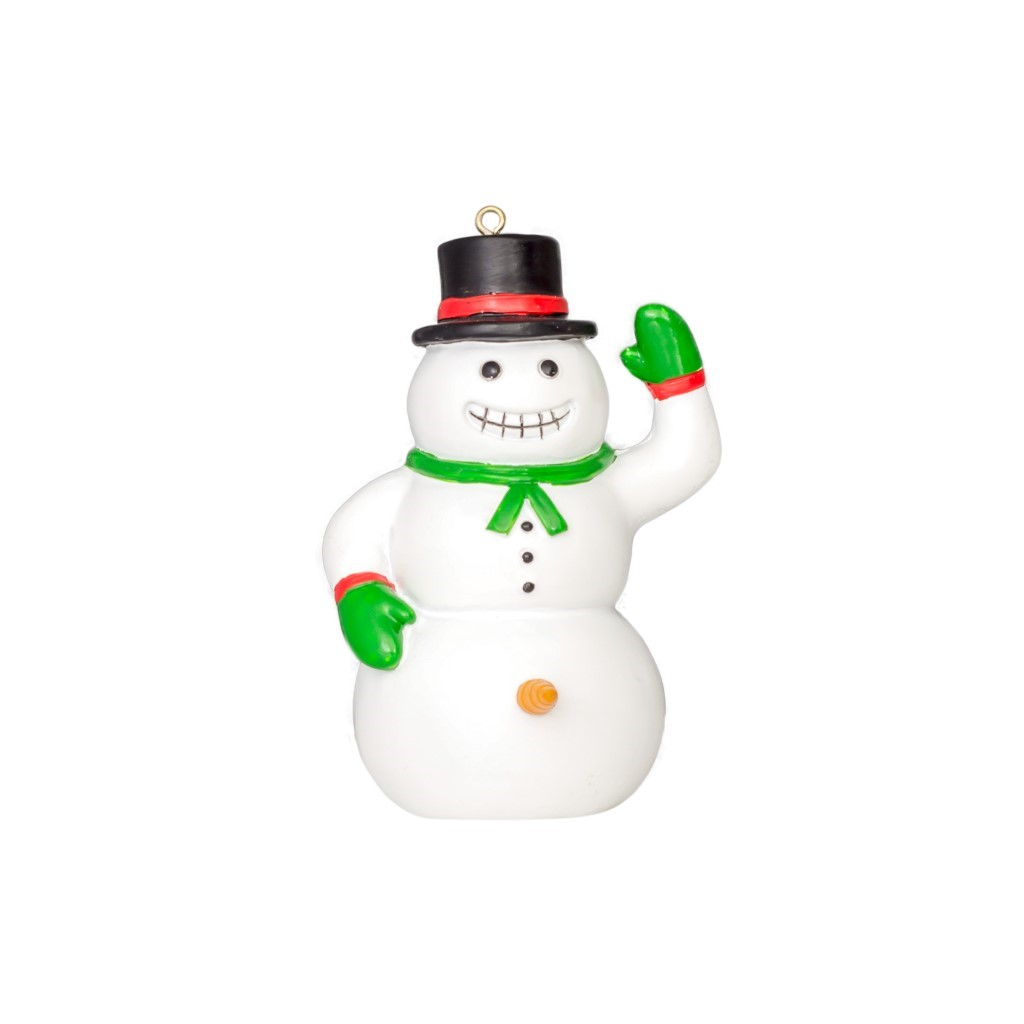 Happy Snowman Christmas Tree Ornament Decoration,Ugly Christmas Sweaters | Funny Xmas Sweaters for Men and Women